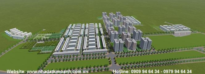 Nhà ở xã hội Định Hòa - Nhà ở đô thị Becamex khu Định Hòa
