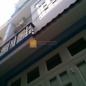 Nhà phố 9D 1trệt 1lầu đường TA10 hướng Tây Nam khu dân cư Thới An, Quận 12, thành phố Hồ Chí Minh