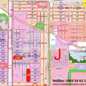 Bán lô J48 đường DJ5 rộng 25m tiện mở công ty, khách sạn trong khu đô thị và công nghiệp Mỹ Phước 3