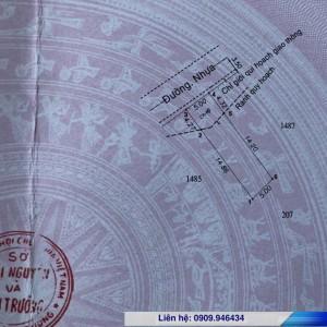 Đất nền Tân Bình, thị xã Dĩ An tại thửa 1486 tờ 22 đường nhựa 7m gần ngã tư 550 và đường Mỹ Phước Tân Vạn