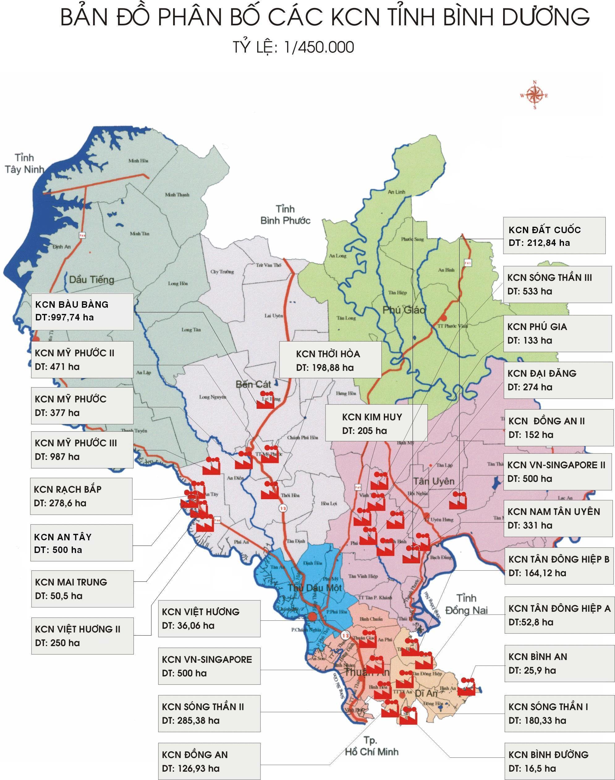 Quyết định 1107/QĐ-TTg Quy hoạch phát triển khu công nghiệp Việt Nam đến 2015-2020