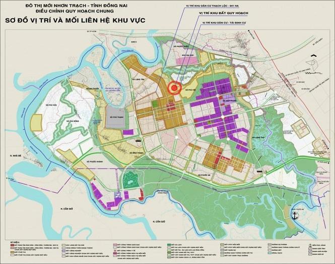 """Đồng Nai: Xây dựng không gian đô thị mới Nhơn Trạch """"Xanh - Hiện đại và thân thiện"""""""